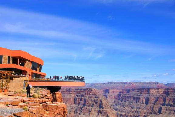 4-Day Grand Canyon West (Skywalk) Bus Tour: Las Vegas/Antelope Canyon