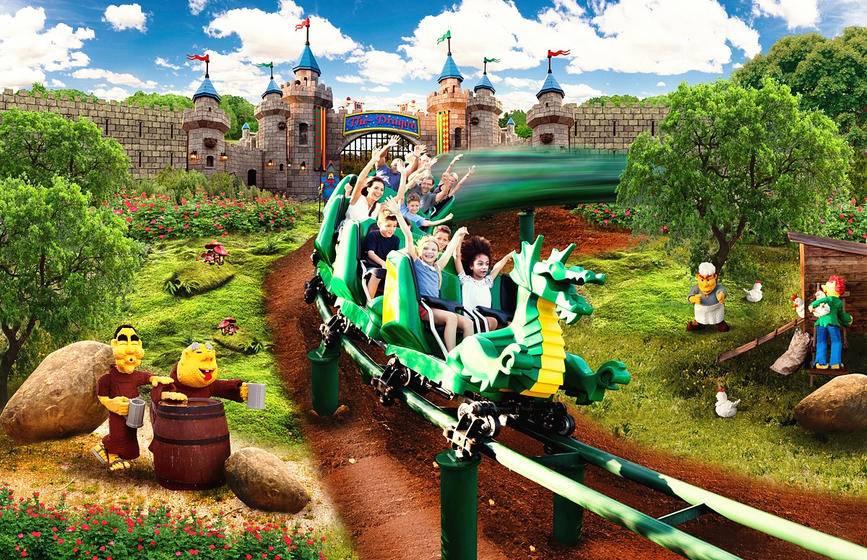 Florida Legoland & Legoland Water Park (Admission Ticket)