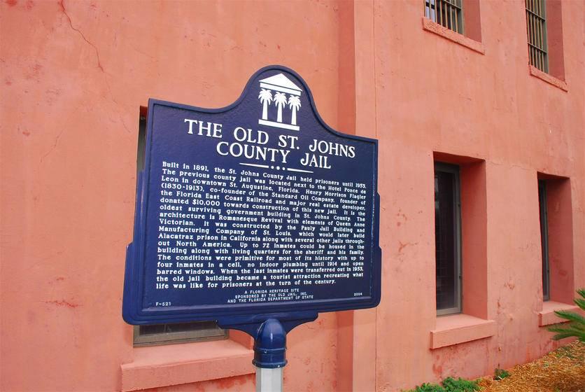 St. Augustine Old Jail Tour