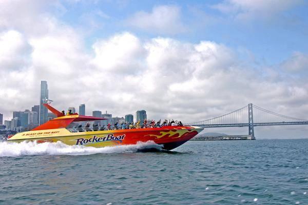 San Francisco Bay RocketBoat Ticket