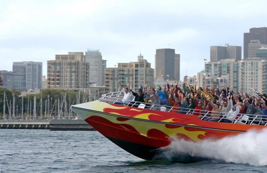 San Francisco Bay Rocket Boat Ticket