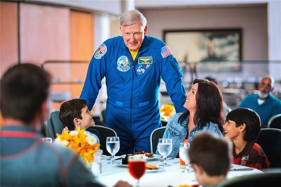 Dine with an Astronaut at the Kennedy Space Center