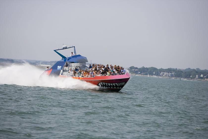 Codzilla Thrill-Boat Ride