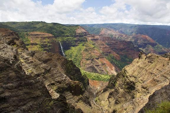 Tour to Waimea Canyon, Kauai