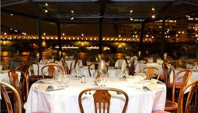 La Marina de Paris River Cruise w/ Dinner