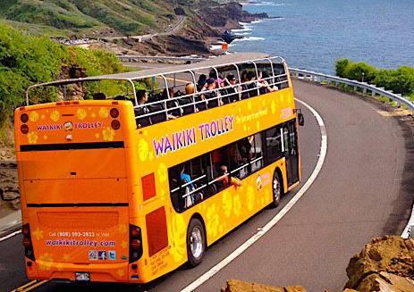 Waikiki Hop-On Hop-Off Trolley Sightseeing