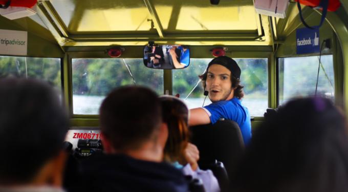 Tarawera and Rotorua Lakes Sightseeing Tour