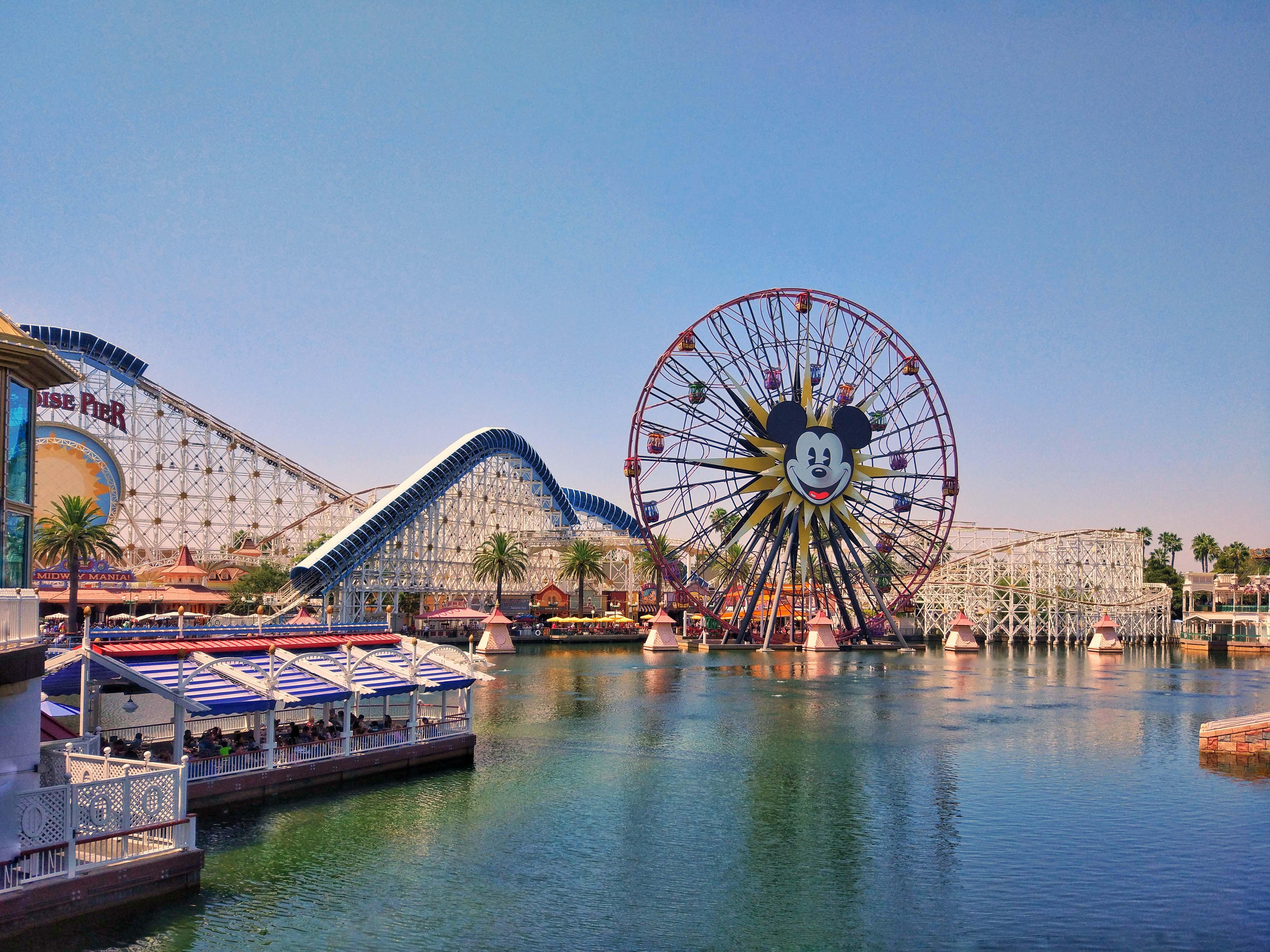 Disneyland California Tickets 1 Day Disneyland Ticket For Disneyland California Adventure