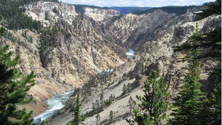5-Day Yellowstone National Park, West Grand Canyon(Skywalk) Tour (Start in LV, End in SLC)