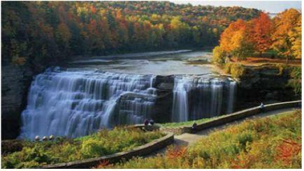 2-Day Finger Lakes, Grand Canyon of the East, Watkins' Glen, Lake Cruise Tour from New York