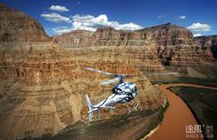 canada tour packages air rail:Grand Canyon West Rim Helicopter Air Tour