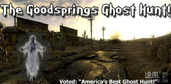 The Goodsprings Ghost Hunt (with Pioneer Saloon Pizza Party!)