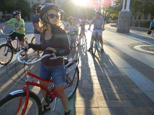 Washington DC Monuments and Memorials Sunset Bike Tour