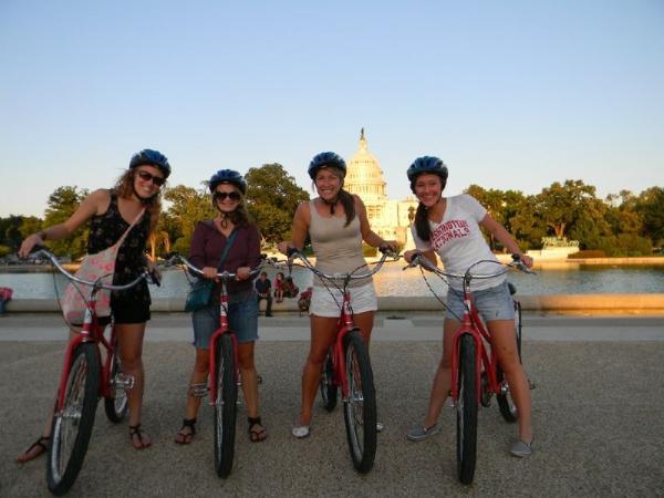 Washington DC Monuments and Memorials Sunset Bike Tour