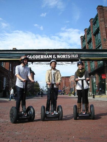 30 Minutes of Segway Distillery Spin Tour