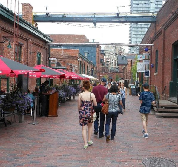 Distillery District Walking Tour from Toronto