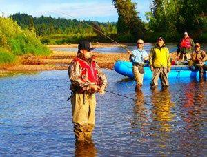Guided Alaska Fishing and Rafting Adventure