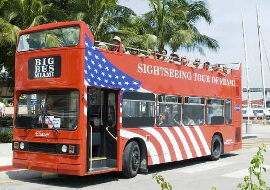 Miami Hop-on Hop-off Sightseeing Tour (24/48- Hour beach & city route)