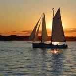 Champagne Sunset Sail Aboard America 2.0