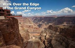 bus tour to grand canyon from las vegas:Grand Canyon West Rim Helicopter & Skywalk Express Tour