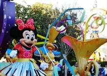 1 day trip boston:Disney's California Adventure Tour (All Day & Evening)