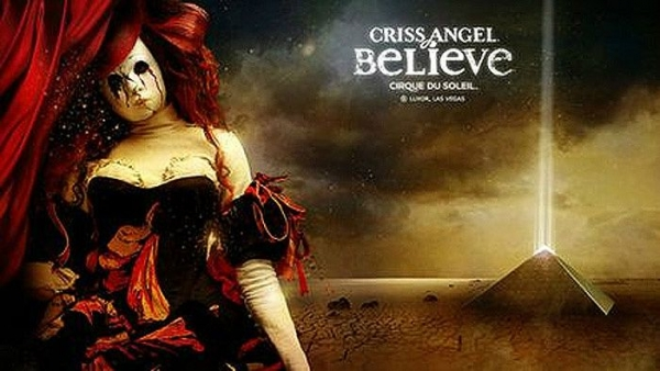 Las Vegas CRISS ANGEL Mindfreak LIVE! Show****