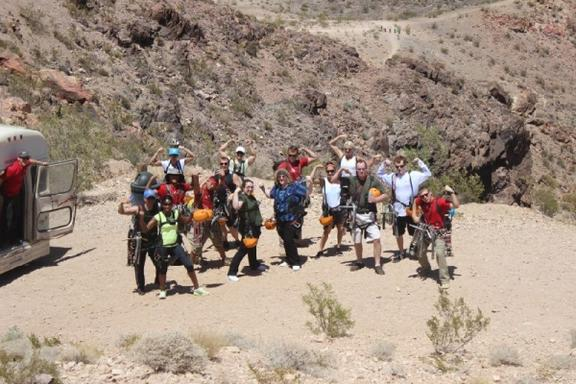 Zipline Tour of Boulder City and Lake Mead from 3,800 feet above sea level