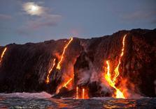 hawaii volcanoes helicopter tours:Big Island Volcano Helicopter Deluxe Tour