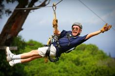 hawaii volcanoes national park tours from maui:Maui's Costa Rican Style 7 Zipline Canopy Tour