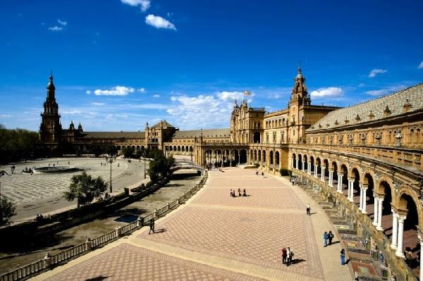 Seville Full Day Sightseeing Tour w/ Bullring and River Cruise