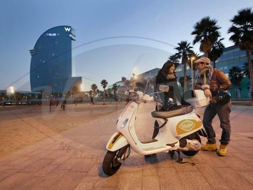 Vespa Rental and Tour in Barcelona with GPS - Beach Tour
