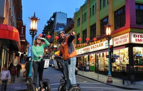 San Francisco Segway Night Tour