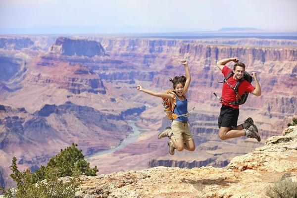 Grand Canyon Explorer with Ancient Ruins