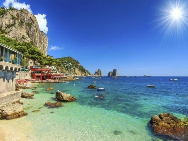 Capri Day Trip from Rome by High Speed Rail