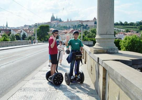 1-Hour Prague Segway Private Tour