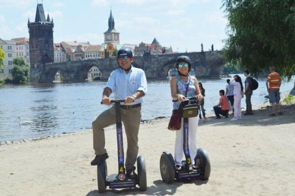 1-Hour Prague Segway Group Tour
