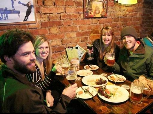4-Hour Prague Beer and Czech Tapas Tour