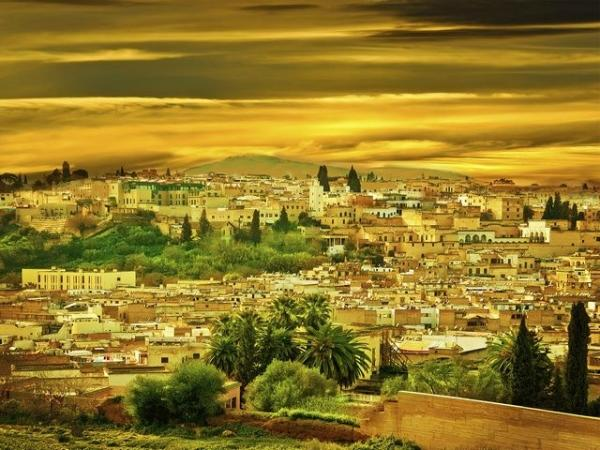 4-Day Morocco Holiday from Malaga:  Tangier | Fez | Meknes | Rabat