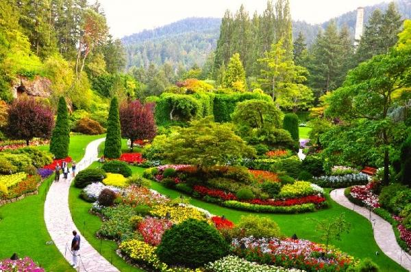 The Butchart Gardens & Victoria Butterfly Gardens Tour