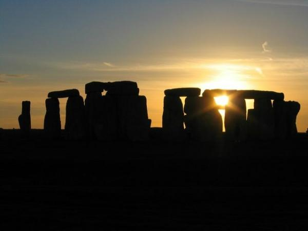 Sunset at Stonehenge w/ Lacock and Bath