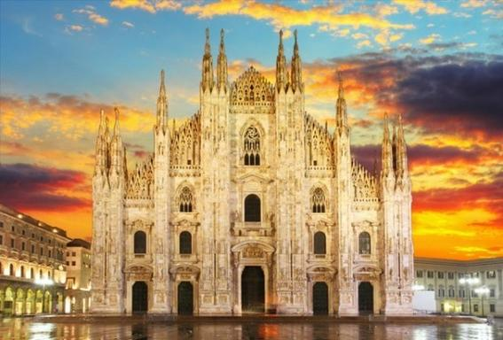 6-Day Milan to Paris Tour: Venice - Rome - Monte Carlo