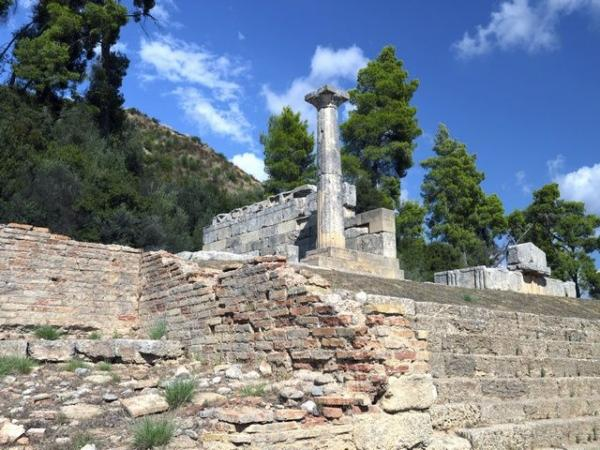 Excursion to Olympia: Ancient Ruins + Shopping