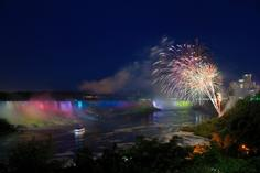1 day tour from nyc to niagara falls:Niagara Falls Illumination Night Cruise