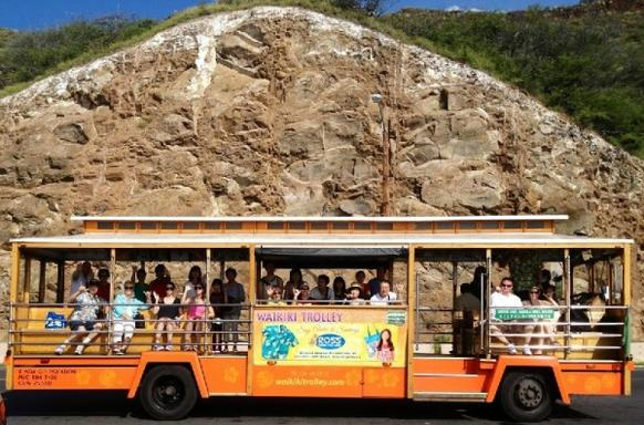 Waikiki Hop-On Hop-Off Trolley Sightseeing