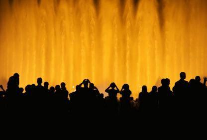2.5-Hour Barcelona Magic Fountain Night Tour