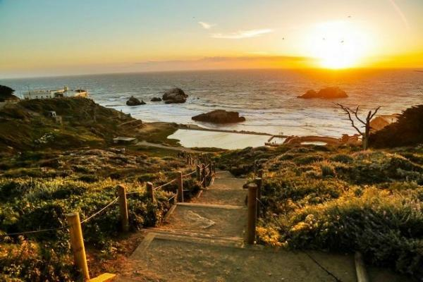 San Francisco Scenic Running Tour: Land's End & Legion of Honor