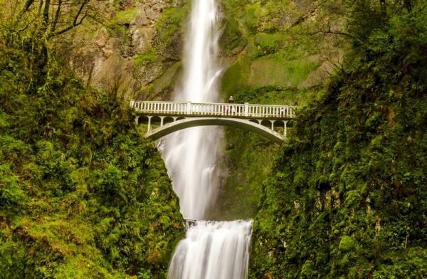 2-Day Seattle to Portland Tour: Columbia River Gorge - Multnomah Falls