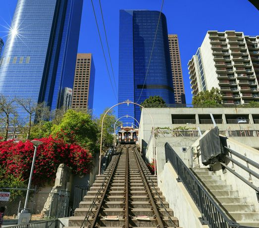bus tours from los angeles:Los Angeles Old and New Downtown Tour