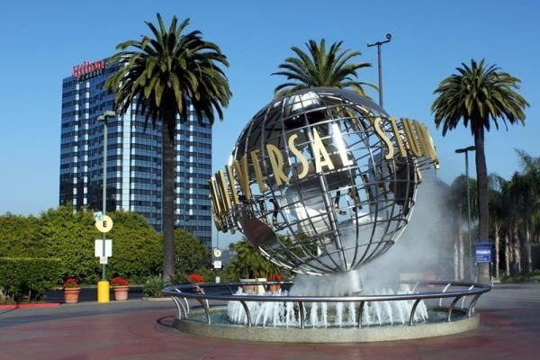 Universal Studios Hollywood from Anaheim
