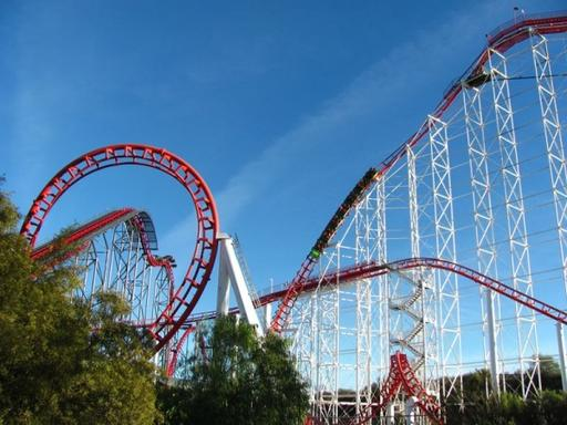 Six Flags Magic Mountain Adventure from Anaheim